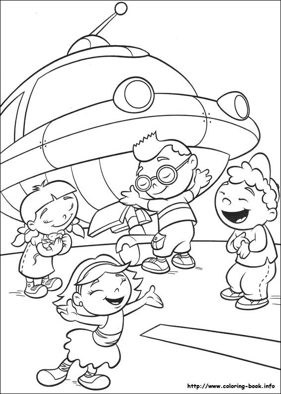Little Einsteins coloring picture | Chloe would LOVE | Pinterest