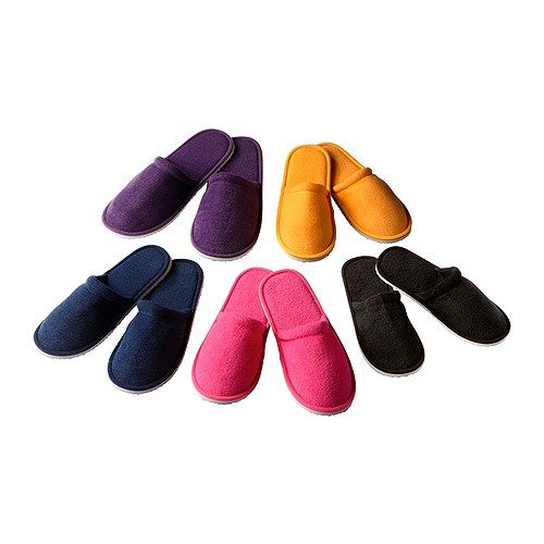 9878bb138660 NJUTA Slippers IKEA. Assorted colors. One size.  1.99 Don t like the colors  very much