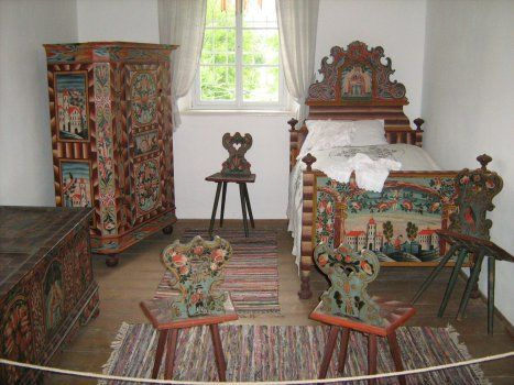 bauernmoebel - Google Search | painted furniture | Pinterest | Paint ...