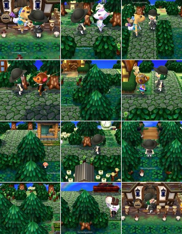Animal Crossing Japanese Garden Design