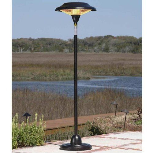 Fire Sense Infrared Indoor/Outdoor Heater With Pole Mount, Bronze   Http:/
