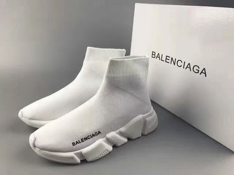 48b8562ff8e4 Balenciaga Speed Trainers Triple White - Cheap Balenciaga Shoes Sale Free  Shipping