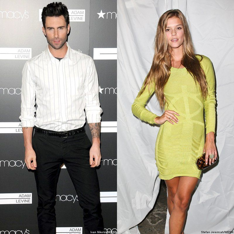Adam levine and dating models