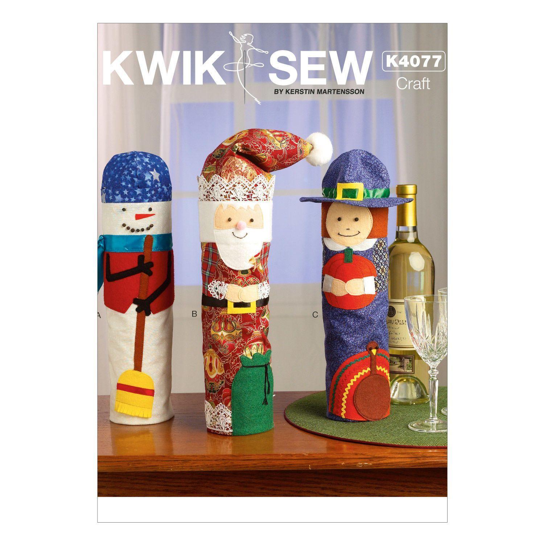 Mccall Pattern K4077 One Size O-Kwik Sew Pattern