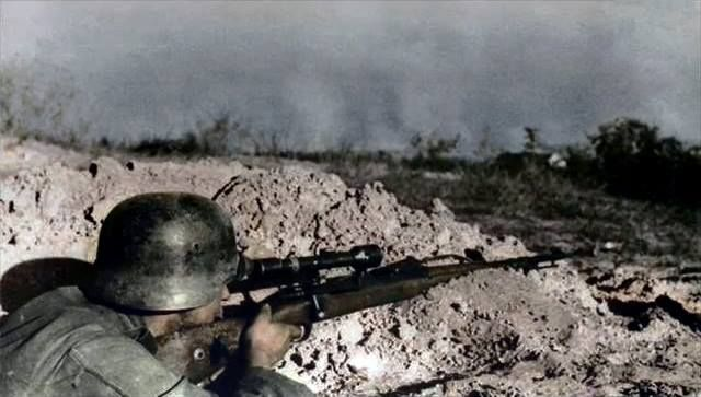 German Sniper Near Stalingrad 1942 I Used To Have One Of Those Rifles Given Me By My Father