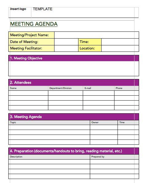 Meeting Notes Template - lw00002119png By  templatesoffice