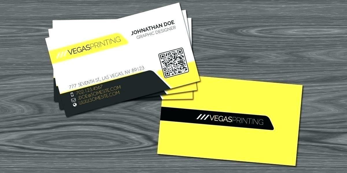 Business card print template psd free qr code business