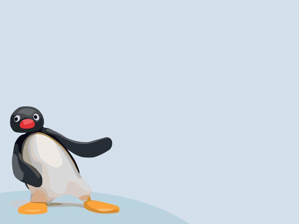 Pingu Wallpaper By Pavu1on Pinguim Engracado Wallpaper Papel