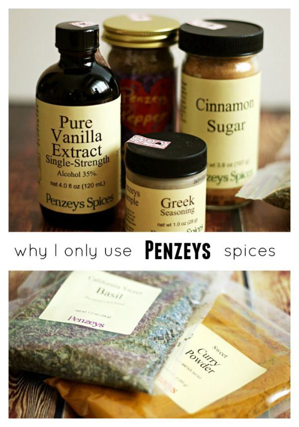 If you love to cook, have you tried Penzeys spices? This is