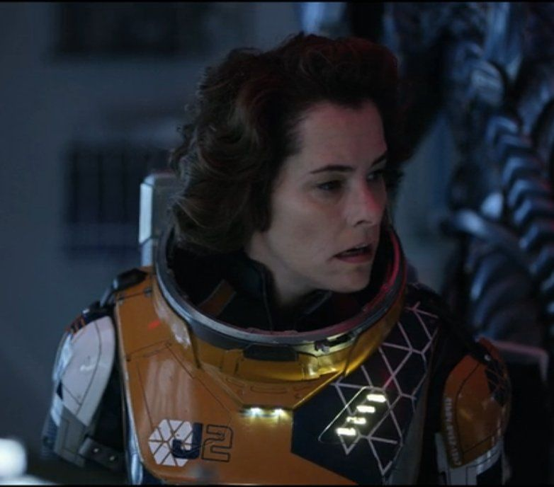 Dr Smith Parker Posey In Lost In Space 2018 Space Suit Lost