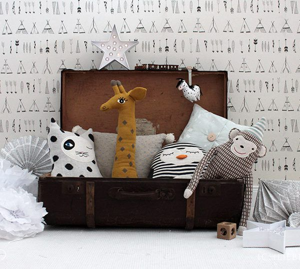 wohnen mit kindern ein diy tipi als spielecke im wohnzimmer n hen pinterest babyzimmer. Black Bedroom Furniture Sets. Home Design Ideas