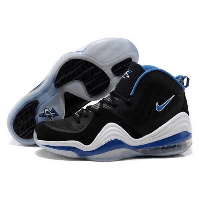 Special Offer Nike Air Penny V Black/White Men Basketball Shoes 1003 $62.00  http: