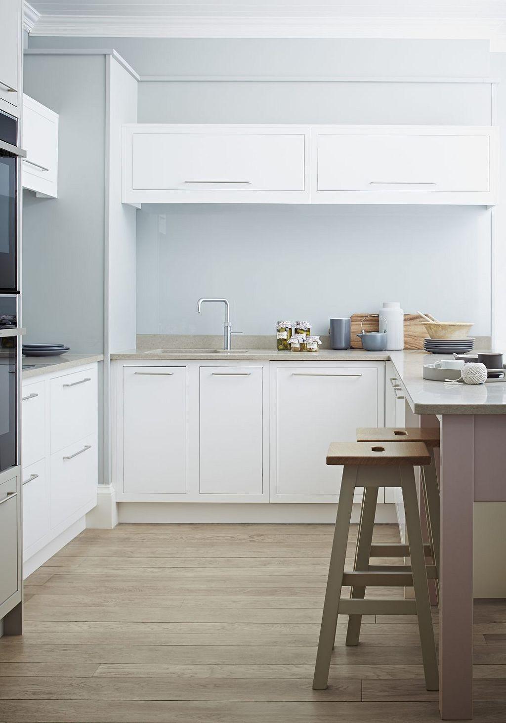 Amazing modern white kitchen cabinets design ideas
