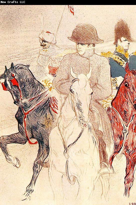 Henri Toulouse-Lautrec Napolean Bonaparte 1895 Free Library, Philadelphia Lithograph