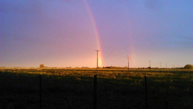 Este es un arcoiris del campo  santa ana de nabarro