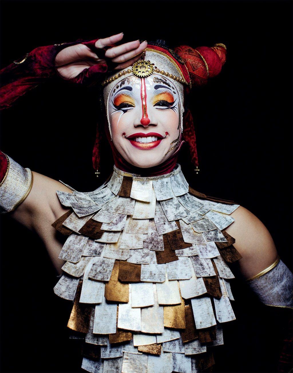 Photo Shoot with Cirque du Soleil for Allure Magazine