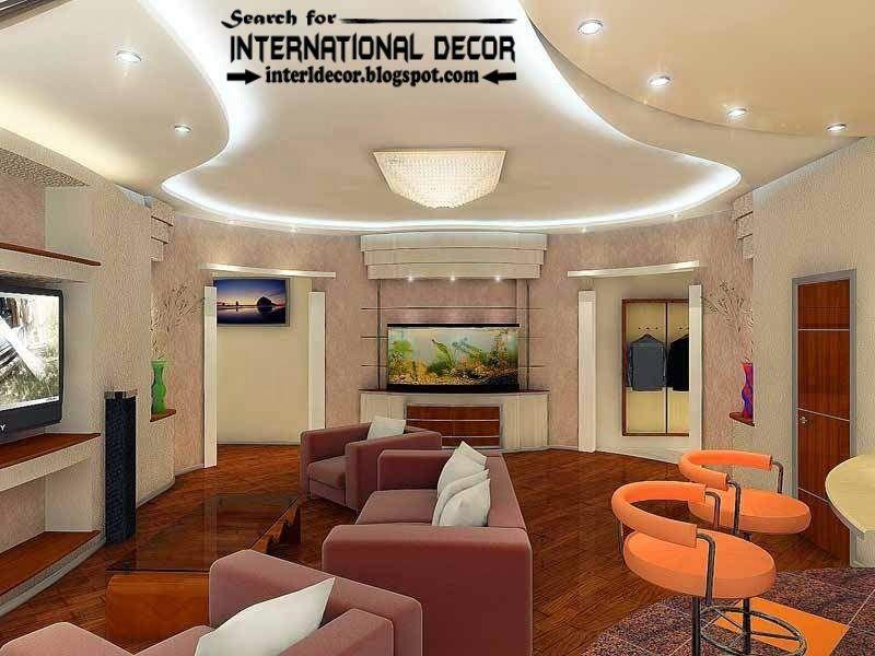 modern pop false ceiling designs ideas 2015 led lighting for