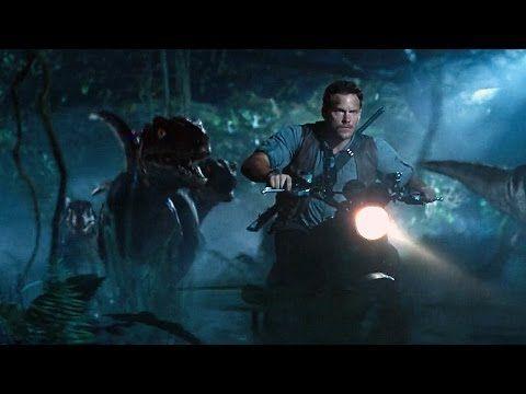 Jurassic World Raptor Scene 1080p - YouTube