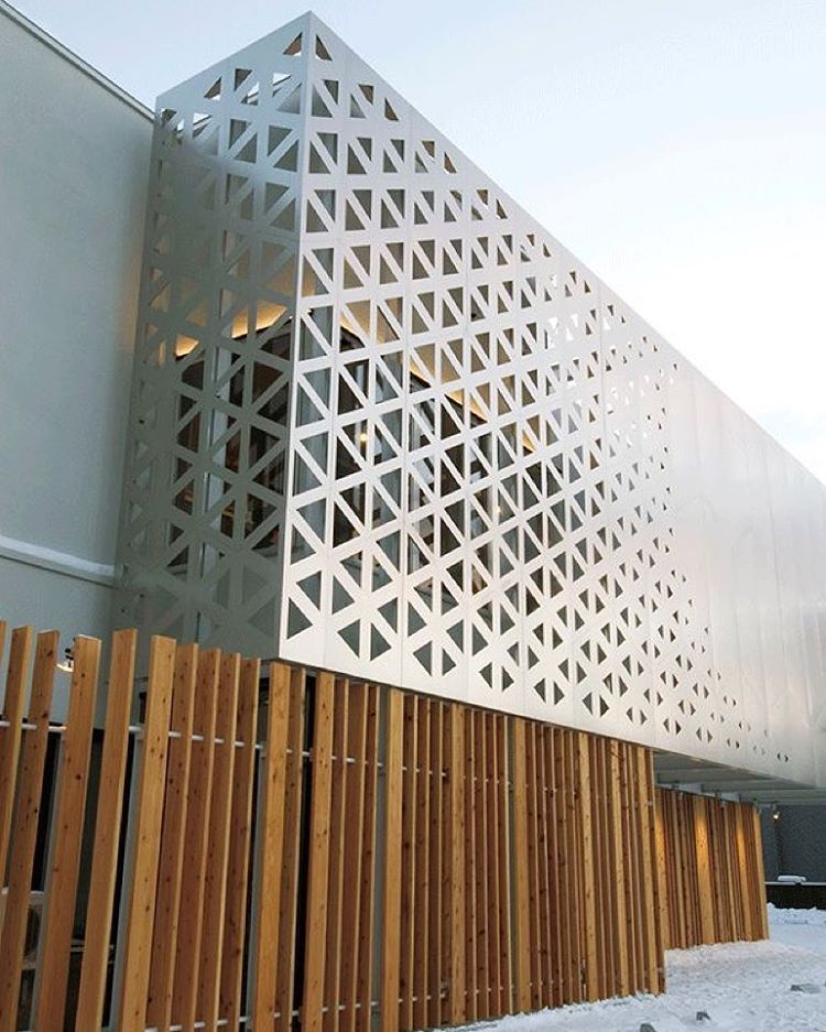 parametric grid facades for some friday inspiration inspiration exteriordesign exterior. Black Bedroom Furniture Sets. Home Design Ideas