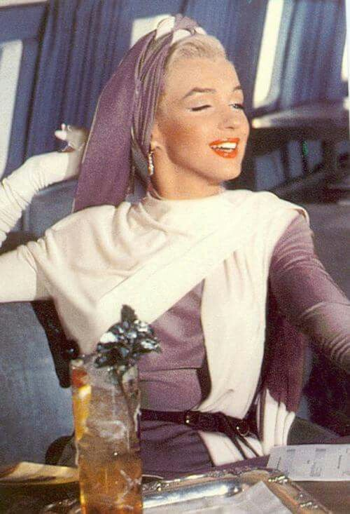 """Marilyn Monroe, """"How To Marry A Millionaire"""", 1953."""