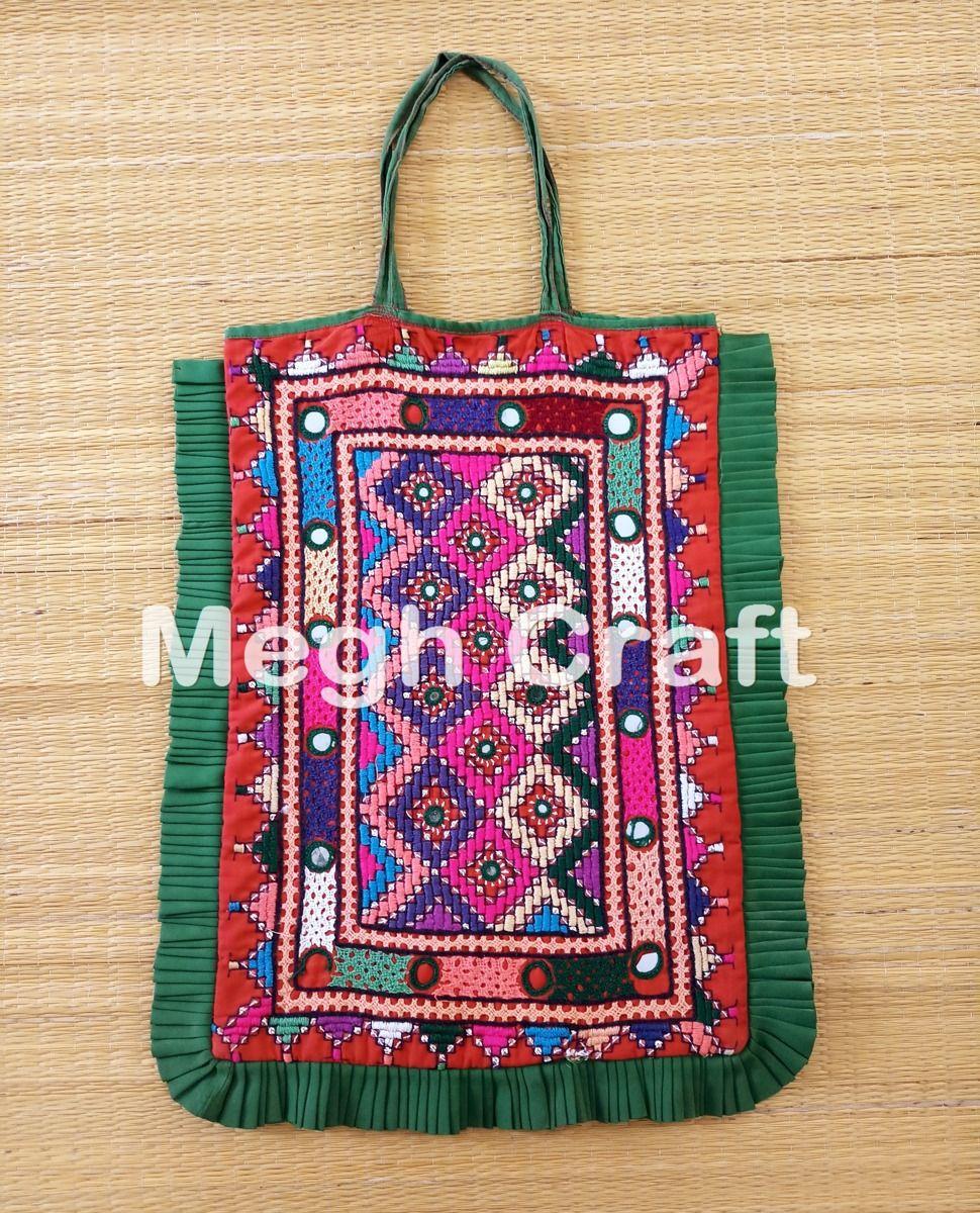 4627e12232a1 Kutchi mirror work Theli Bag- Vintage Gypsy Ethnic Bag-Banjara Bohemian  Theli