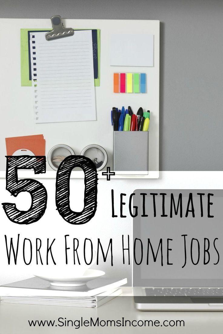 50 legitimate work from home jobs legitimate work from
