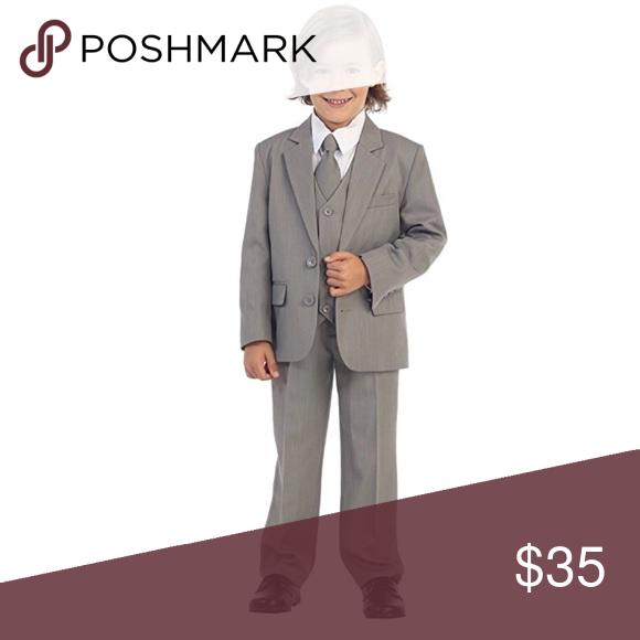 3de7c08d4d Light Gray 5-Piece 2-Button Suit Tuxedo, Boys, 2T Great suit or ...