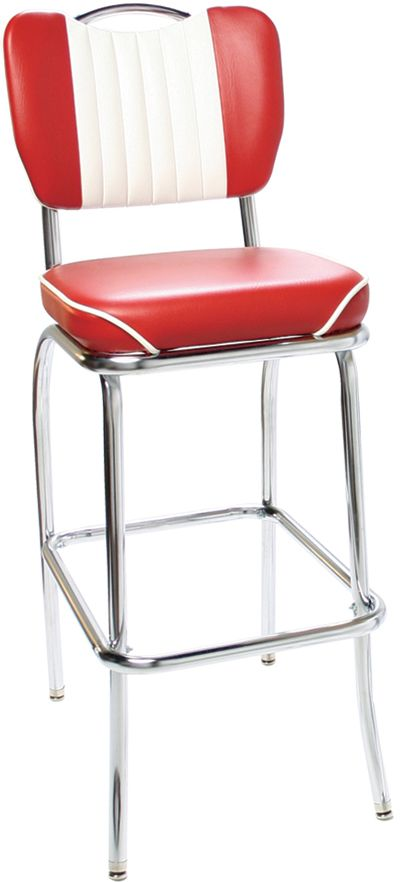 New Retro Dining Classic Retro Diner Stools Retro Bar Stools