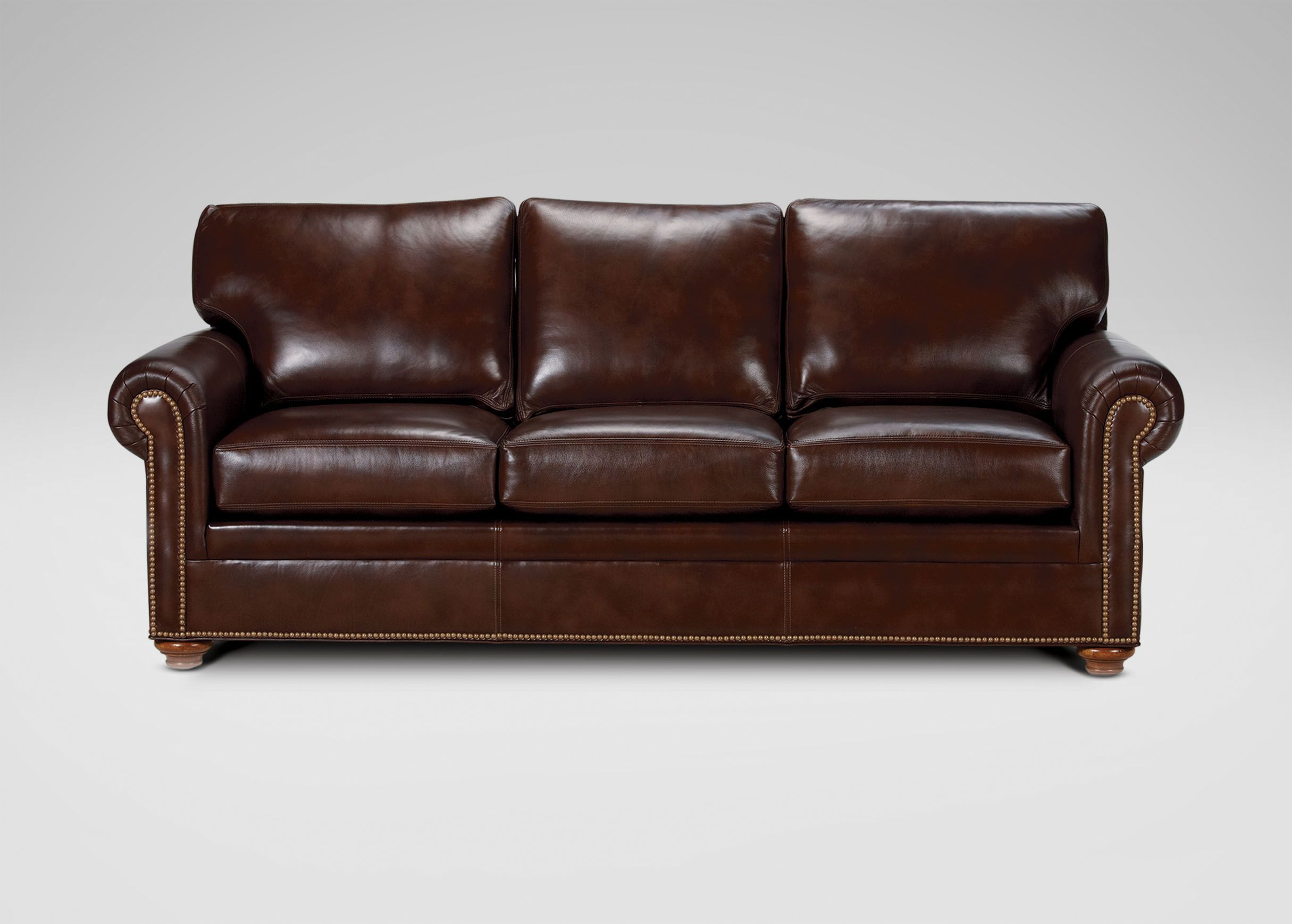 Good Ethan Allen Leather Sofa   Home Furniture Design