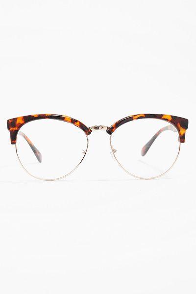 83704f9c139  Jessie  Unisex Clear Clubmaster Glasses - Tortoise  5273-2.