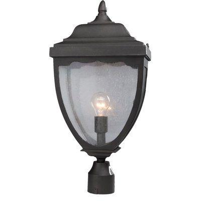 Alcott Hill Boise Outdoor 1 Light Lantern Head Finish: Black