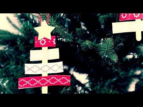 DIY Idee mit Tape: Süße Anhänger für den Weihnachtsbaum