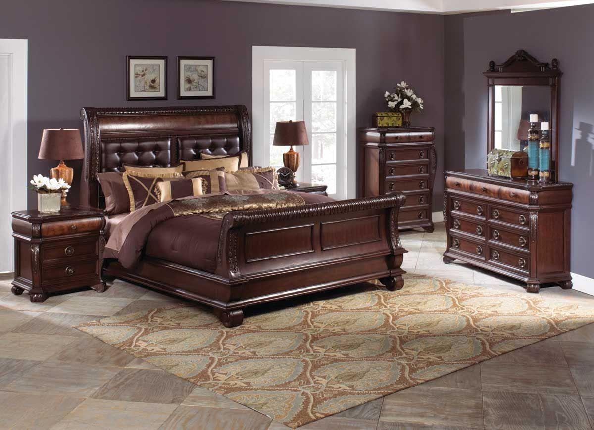 Sophia 5 piece king bedroom set King bedroom sets, Furniture