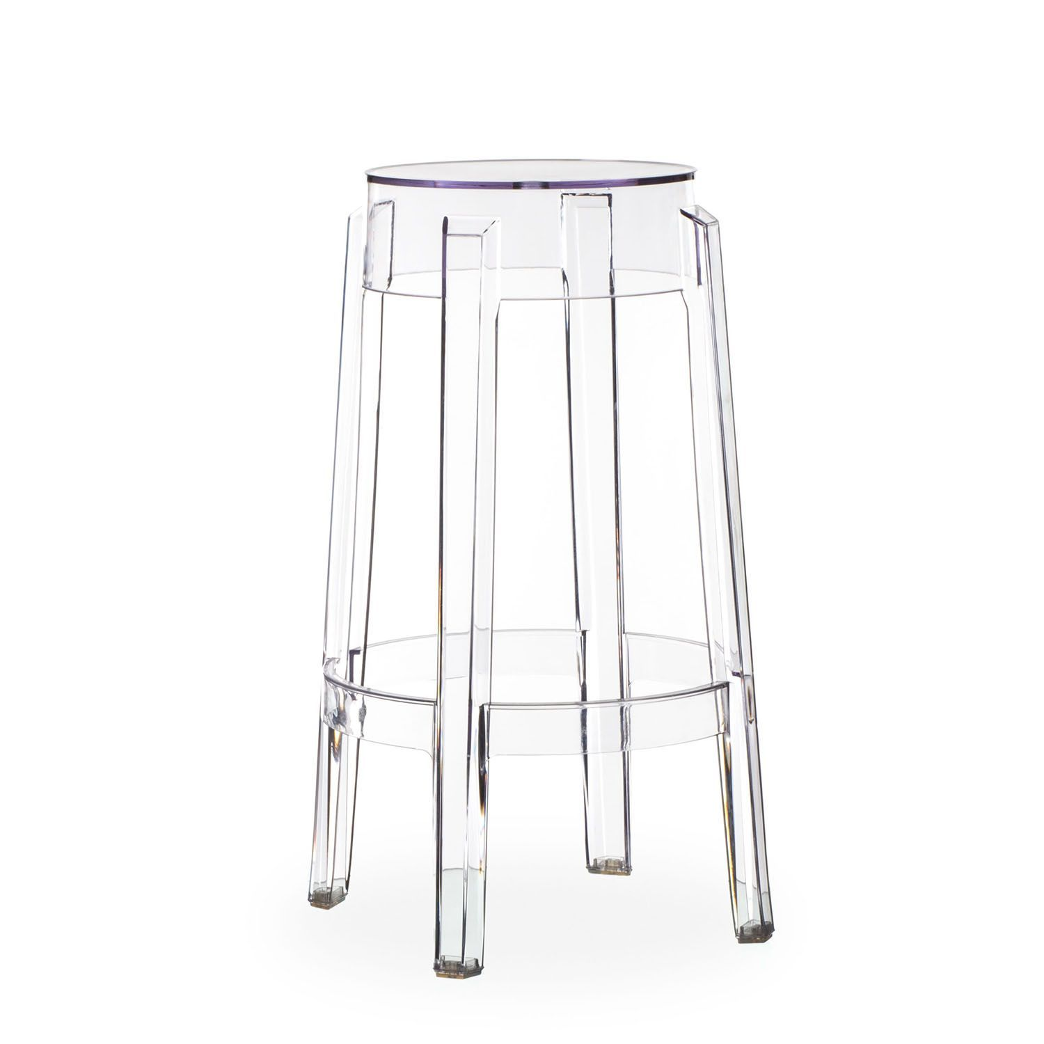 Inspired By Philippe Starck Desing Transparent Polycarbonate  # Table Tv D'Angle En Verre Design Transparent