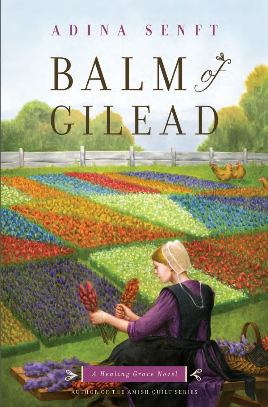 I'm celebrating the release of Balm of Gilead, the third book in the Healing  Grace trilogy. It wraps up the story of Sarah. Book Release Day by Adina  Senft