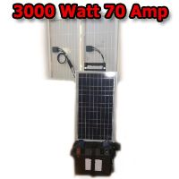 Solar Powered Generator V70 Amp Solar Power Generator With 3000 Watt 110 Volt System Solar Energy Panels Solar Powered Generator Solar Panels