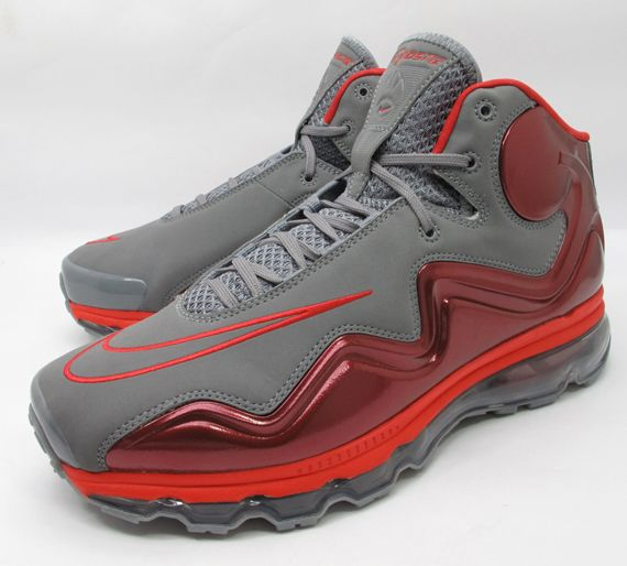 finest selection e5335 3d1ba Nike Air Max Flyposite - Grey  Red