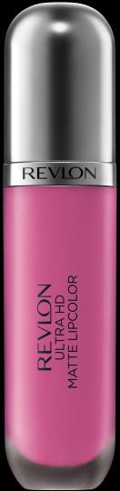 NEW Revlon Ultra HD Matte Lipcolor™. Lightweight, high definition velvety matte colour. HD Crush.