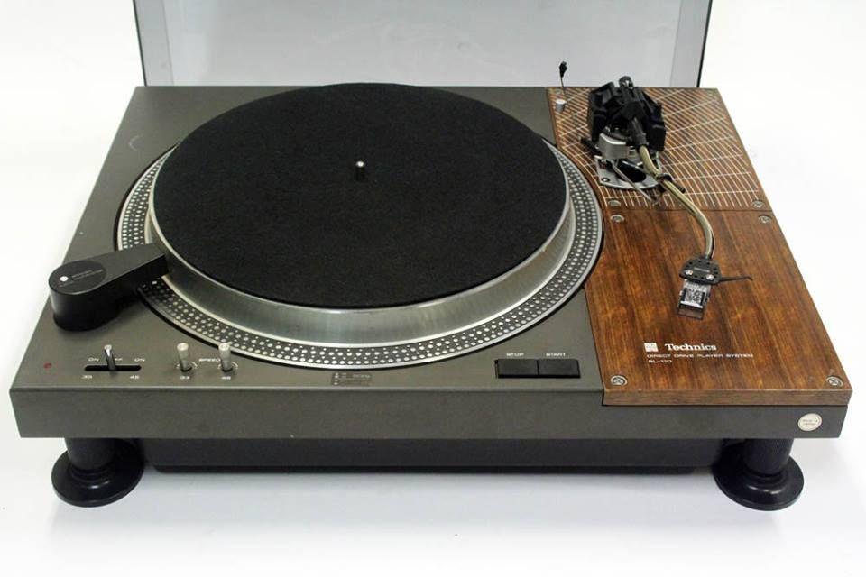 Technics SL 110 turntable | Проигрыватель, Аудио