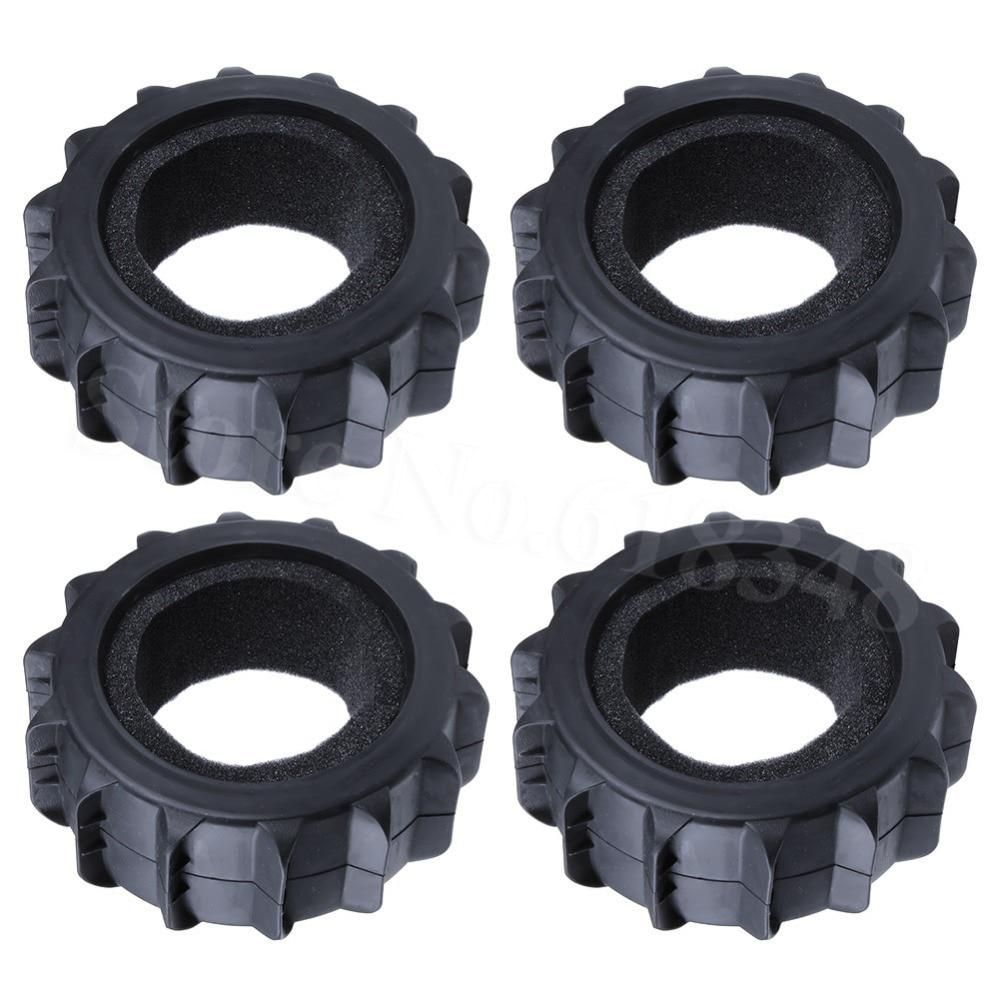 Buggy Test Warentest 4pcs Rc 1 8 Buggy Snow Sand Paddle Tires With Foam Inserts