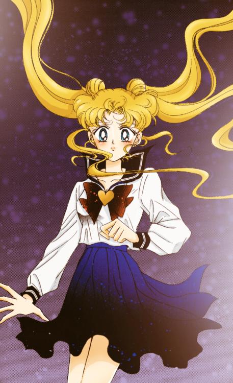 Sailor Moon 1 Usagi Tsukino Serena Tsukino Manga Anime Soldier Love and Justice