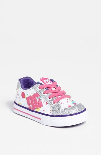 DC Shoes 'Chelsea Charm' Sneaker (Walker & Toddler) available at #Nordstrom