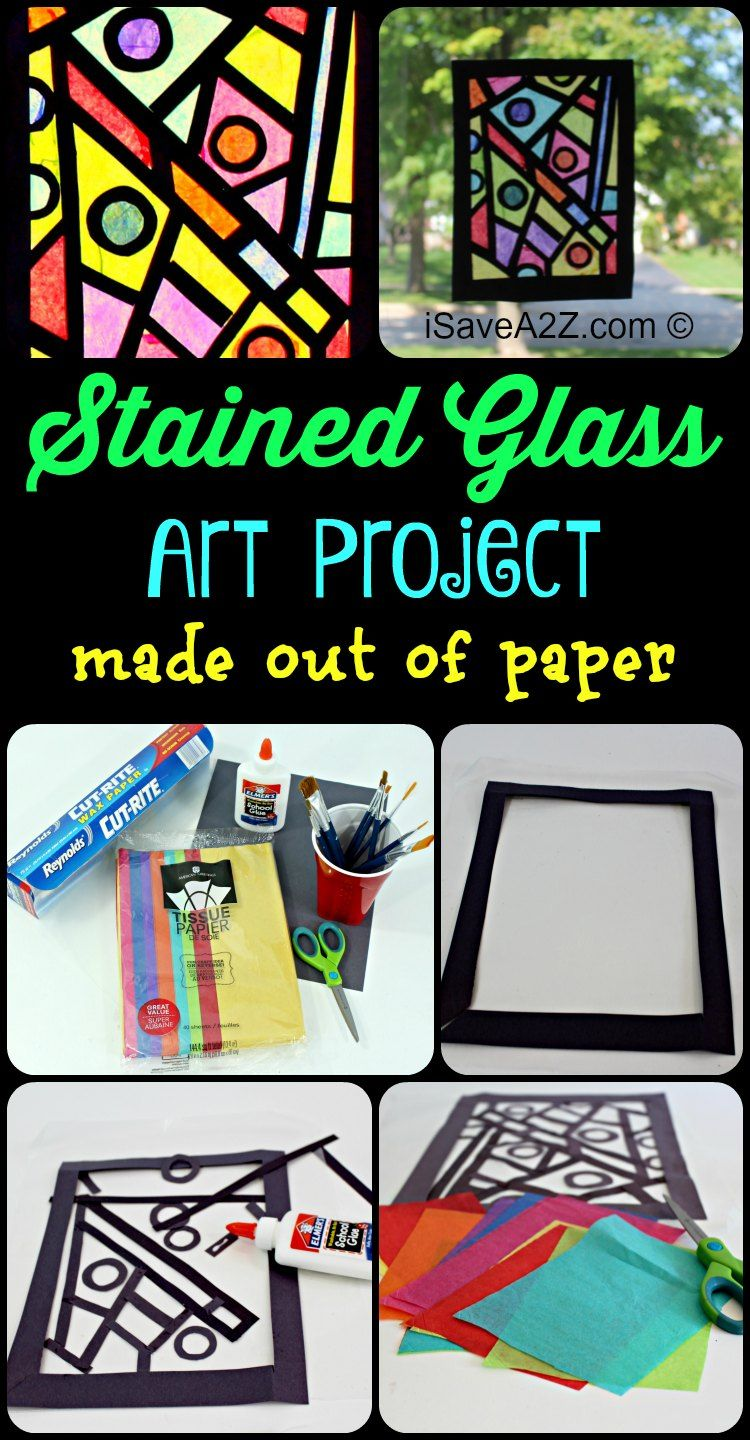 Photo of Paper Craft Idea: How to Make your stained glass window
