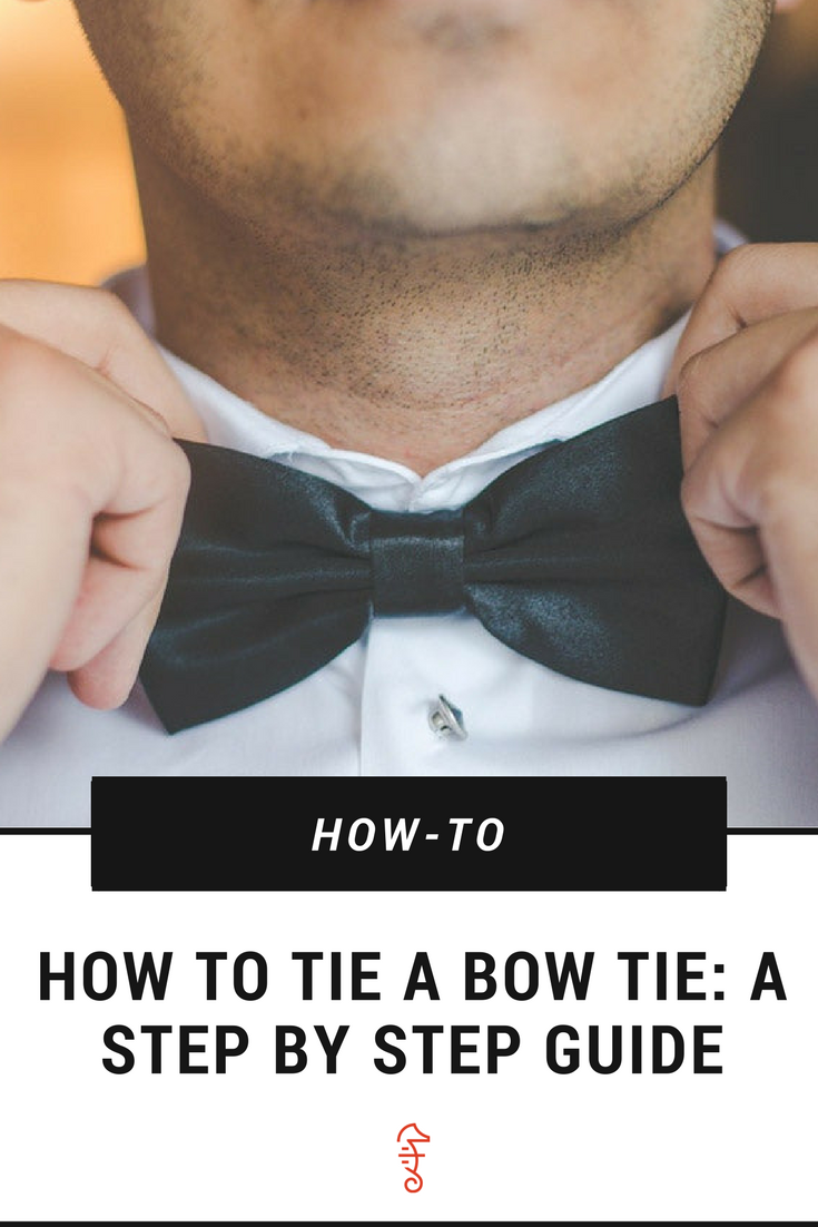 A step by step guide on how to tie a bow tie like a pro pinterest not sure how to make a bow tie check this step by step diy to tie that mens bowtie in style ccuart Images