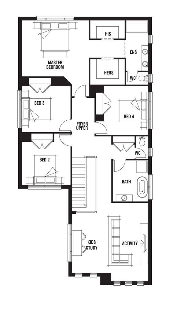 House design madison porter davis homes floorplans for Madison house plan