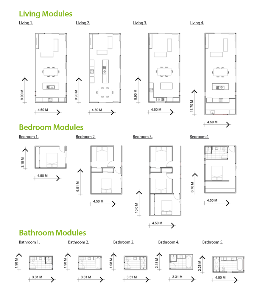 Modules details Modular homes