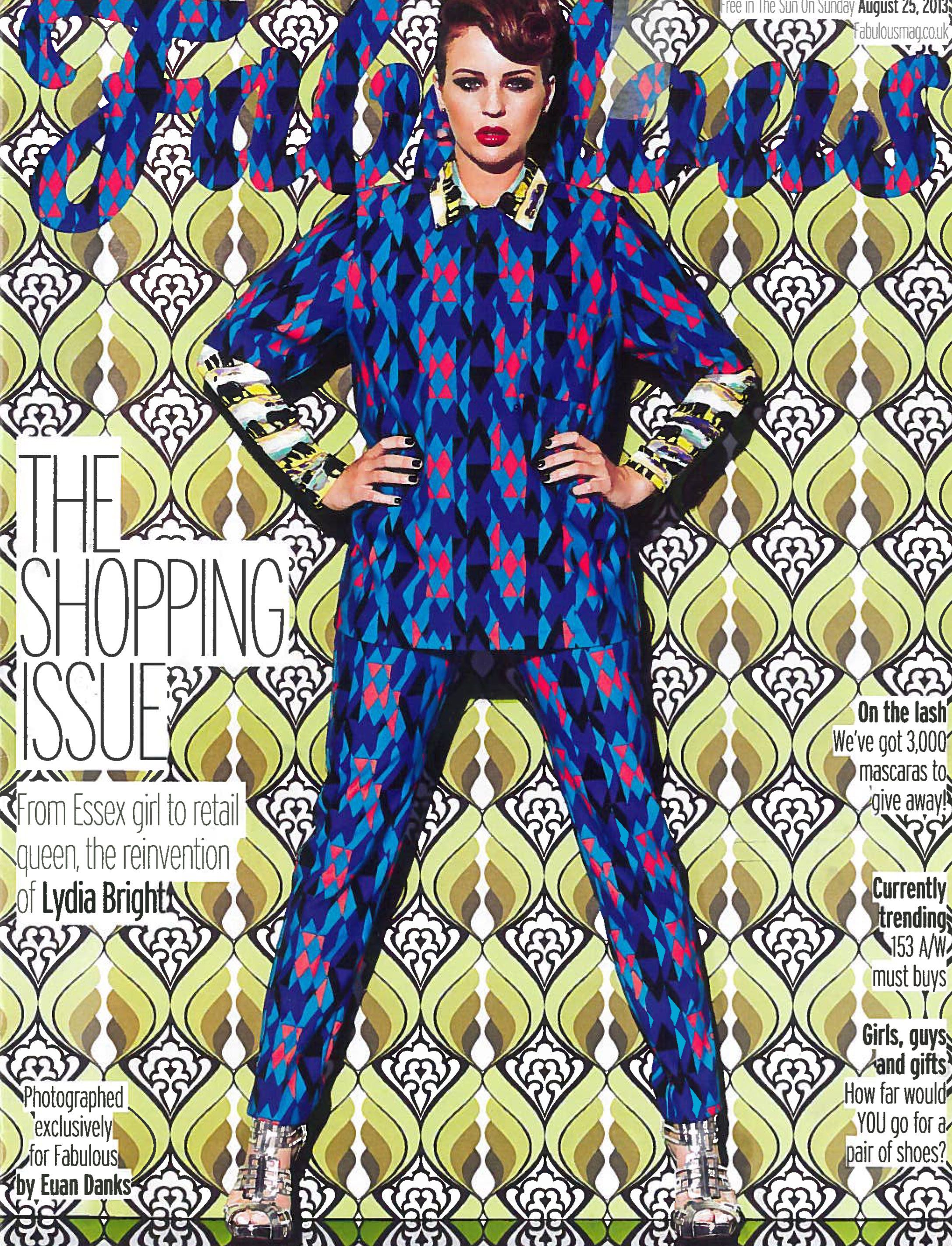 M Missoni | Fluo triangles Long Shirt & Pants | Fabulous UK | August 2013