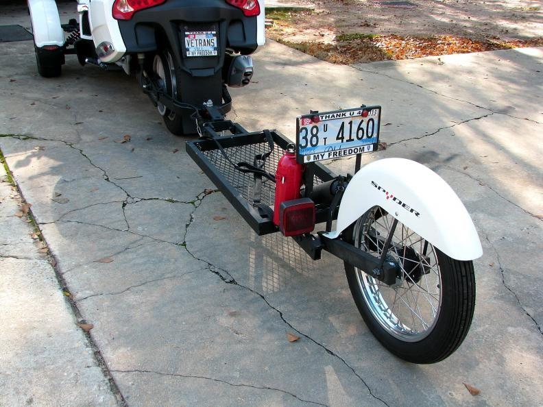 Single Wheel Motorcycle Trailer Plans Google Search