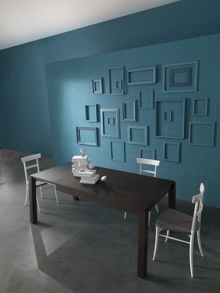 Cornici dipinte come il muro Cornici dipinte, Idee per