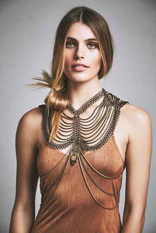 acfda1408b6 Diamond Canyon Bodypiece | Accessories | Jewelry, Chain, Body Jewelry